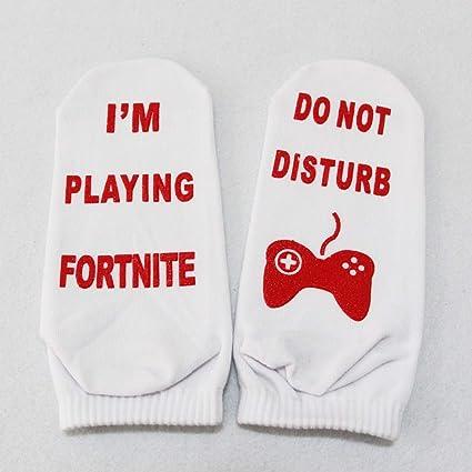 Calcetines con letras: 5 pares de medias divertidas de la novedad para hombres y mujeres