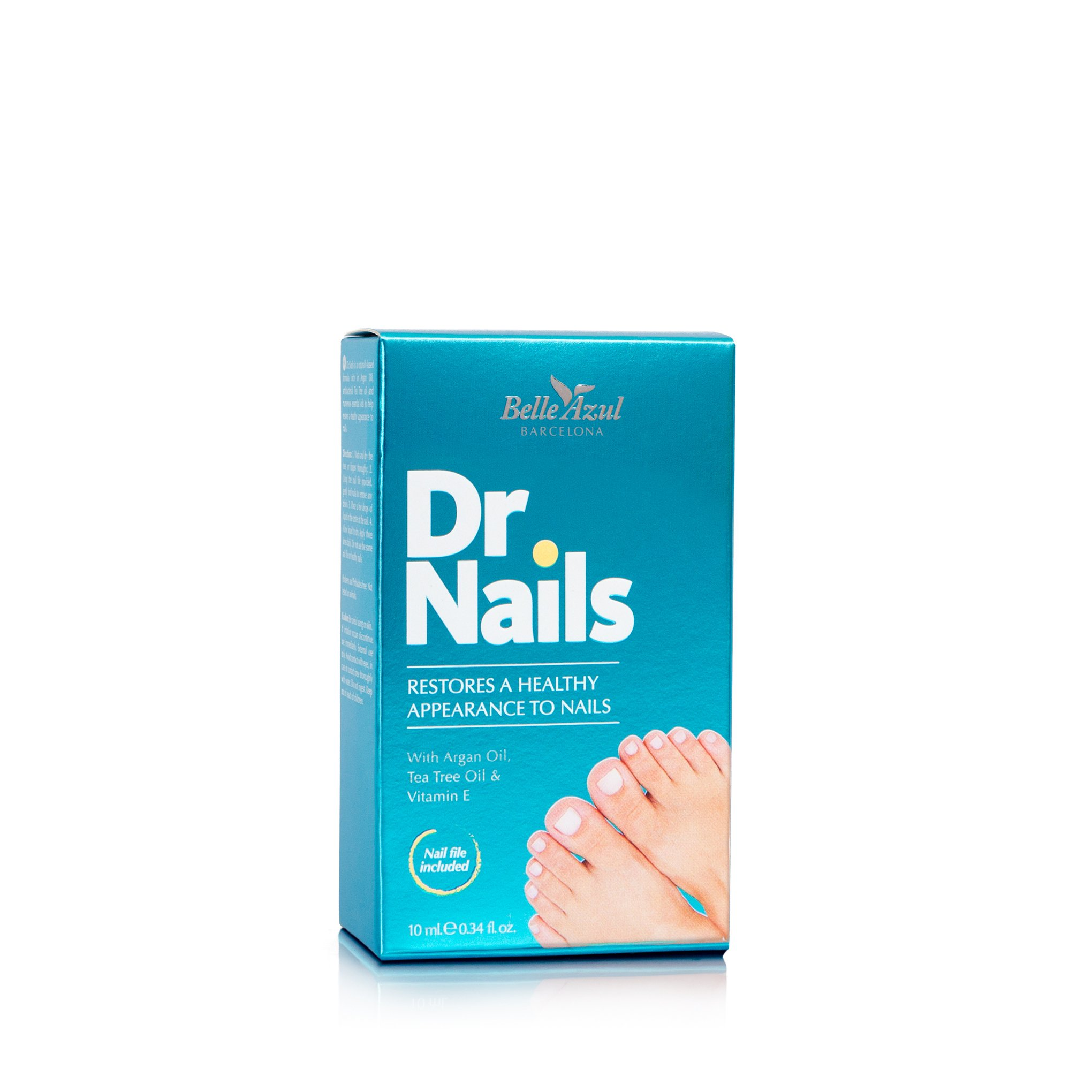 Belle Azul Dr. Nails - Nail Fungus Treatment & Nail Whitener with Antibacterial Tea Tree Oil - Effective Toenails & Fingernails Solution. 10ml / 0.34fl.oz by Belle Azul (Image #3)