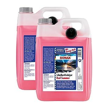 2 garrafas de líquido de limpiaparabrisas Red Summer Energy, de Sonax, 02665000, 5