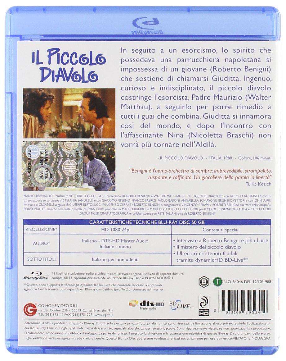 Il Piccolo Diavolo (Blu-Ray) [Italia] [Blu-ray]: Amazon.es ...