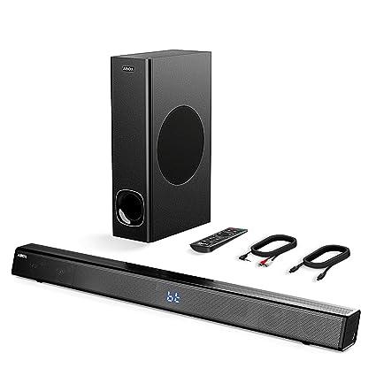 7c902c1dd48 Amazon.com  Sound Bar with Subwoofer