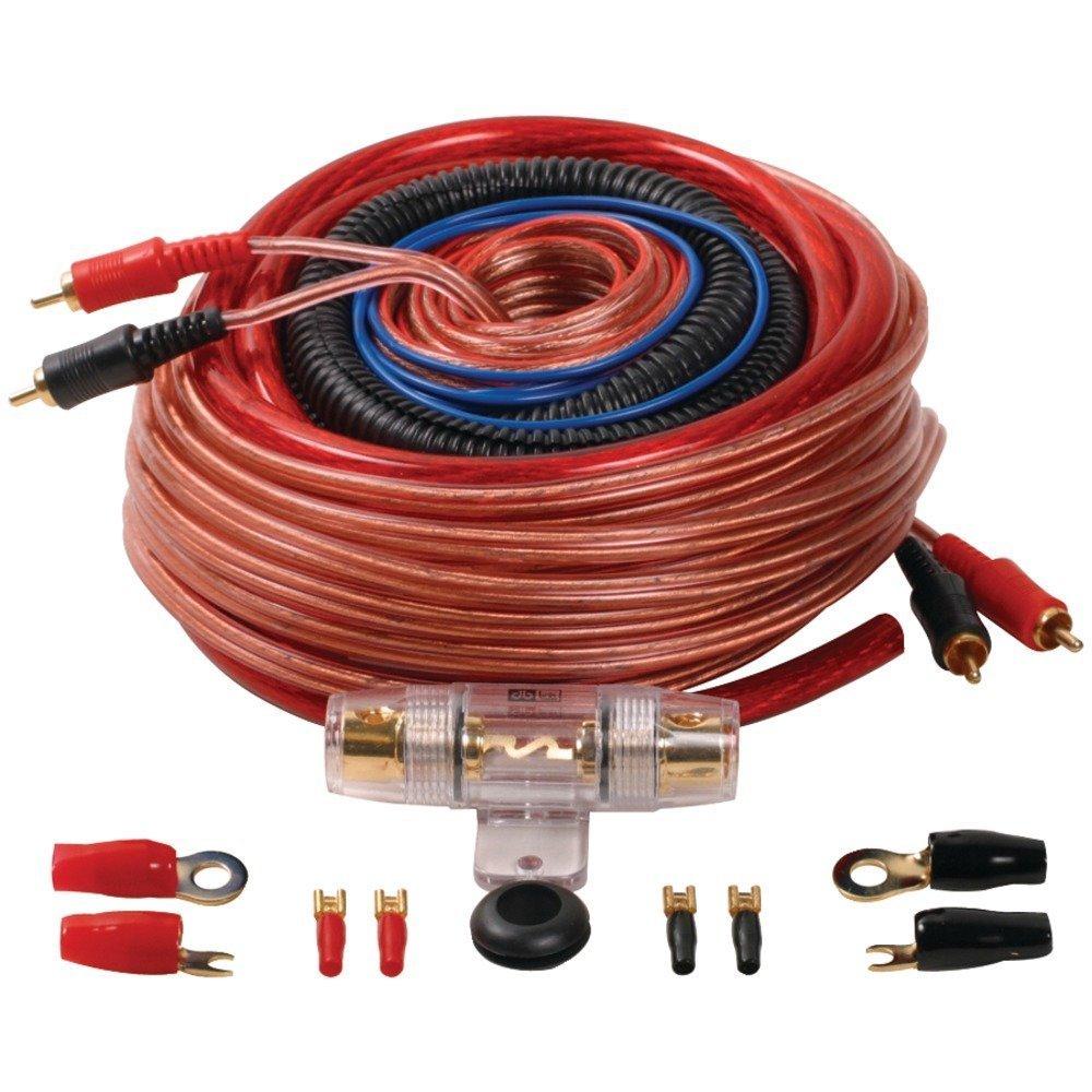 Db Link X Treme Series Xk4z 4 Gauge S Amplifier Wiring Kit Installation Car Electronics