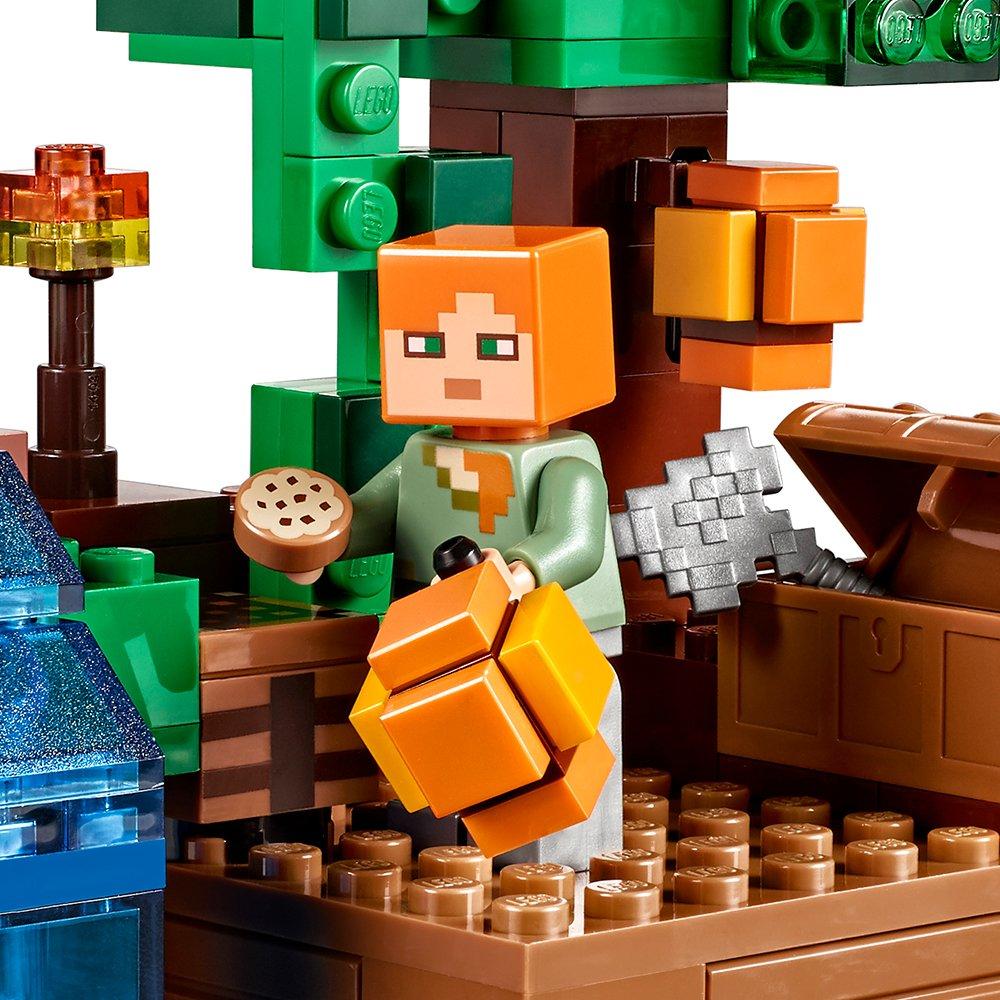 Jungle 21125 Tree House The Lego Minecraft uTPiXZOk