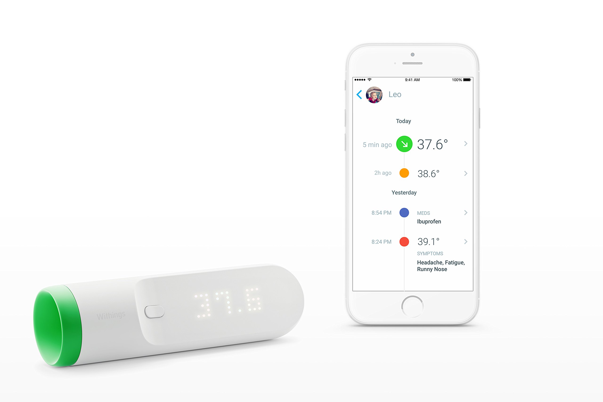 Withings Thermo - Smart Thermometer by Withings (Image #3)