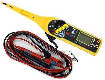 amazon com car auto power electric circuit tester multimeter lamp rh amazon com Ideal Circuit Tester Car Fuse Tester
