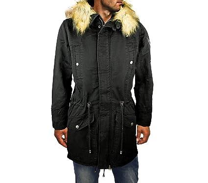 MWS D-201 Chaqueta Parka para Hombre Z-Design Mod. Winter Cool con