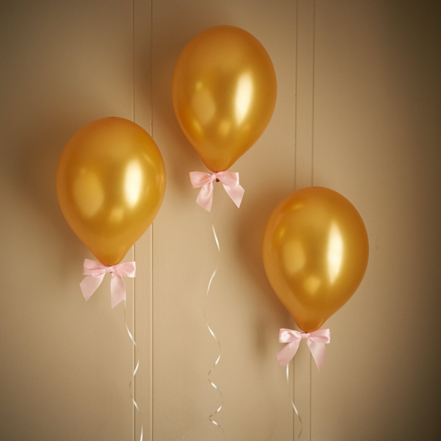 Amazon.com Pink and Gold Birthday Party Decorations. 8 Gold