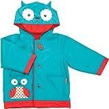 Skip Hop Zoo Little Kid and Toddler Hooded Rain Jacket, Small, Multi Otis Owl