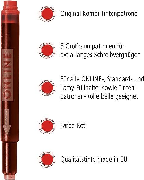 9 Tintenpatronen VIOLETT LILA bunt farbig für Füller Füllfederhalter Tinte neu