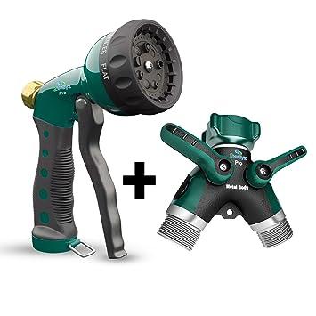 Amazoncom 2wayz Garden Hose Splitter Hose Nozzle with Heavy