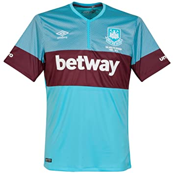 Umbro 2015-2016 West Ham Away Football Soccer T-Shirt Camiseta: Amazon.es: Deportes y aire libre