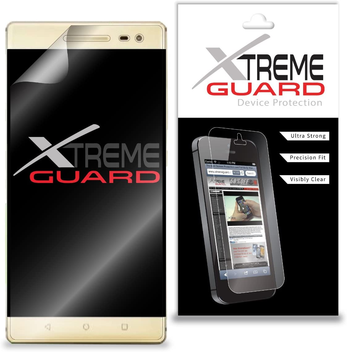Premium XtremeGuard Screen Protector Cover for Lenovo Phab 2 Pro (Ultra Clear)
