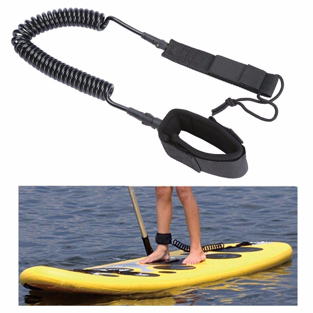 CAMTOA SUP Guinzaglio, Stand Up Paddle Guinzaglio - Tavola da surf piedi guinzaglio di corda Per Sup Surf consiglio, Stand Up Paddle Corda Consiglio, Surf, Tavola da surf
