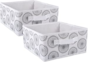 DII Fabric Storage Bins for Nursery, Offices, & Home Organization, Containers Are Made To Fit Standard Cube Organizers (11x11x5.5