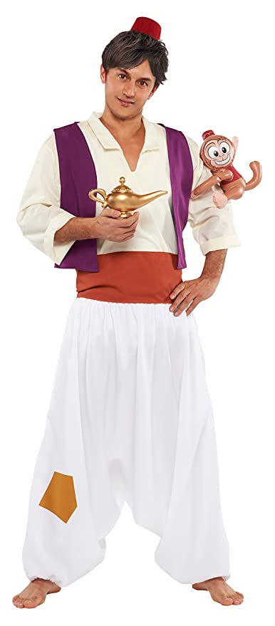 Disney Aladdin costume Menu0027s corresponding height 165-175cm 95809  sc 1 st  Amazon.com & Amazon.com: Disney Aladdin costume Menu0027s corresponding height 165 ...