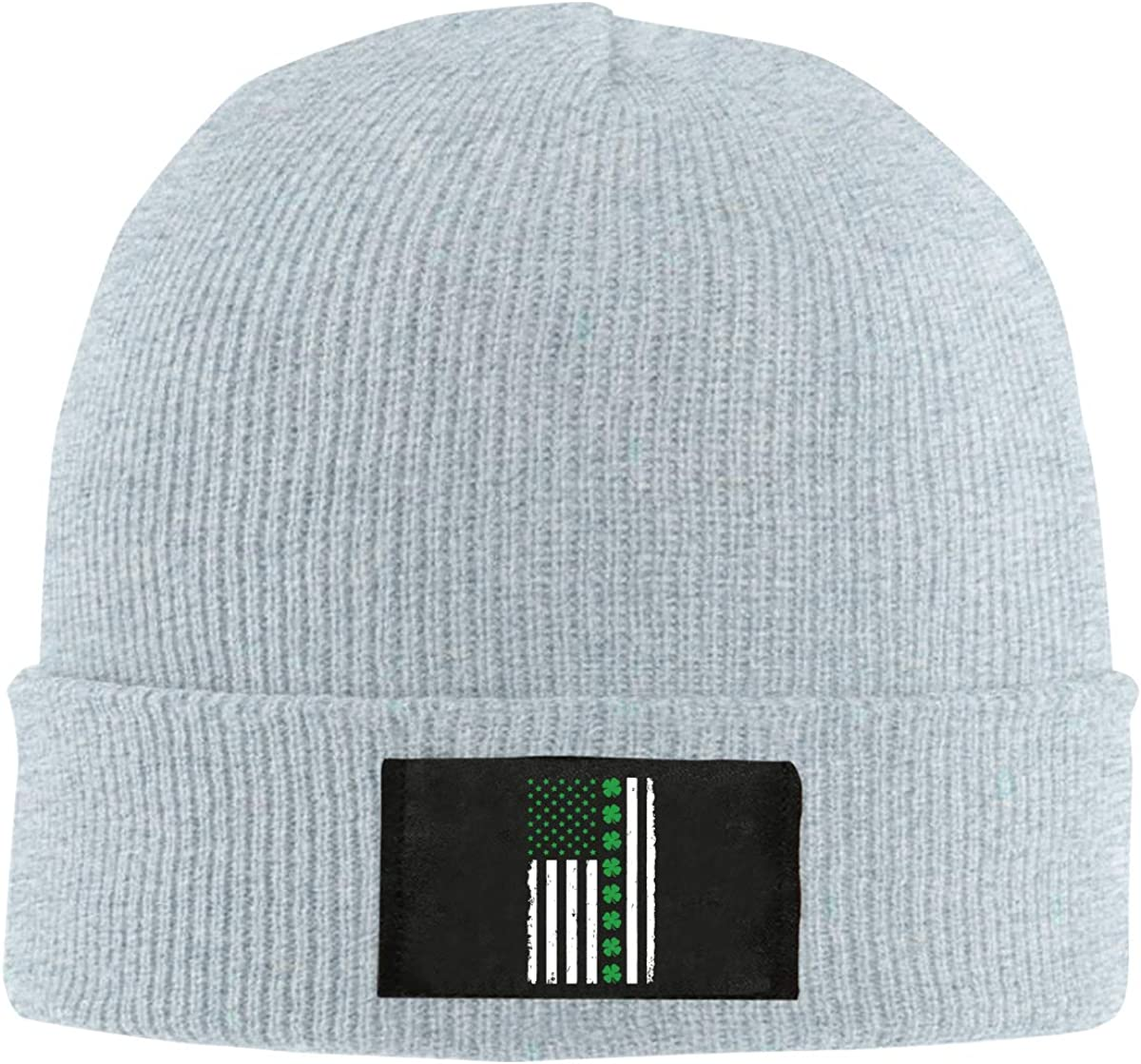 BF5Y6z/&MA Mens and Womens Big Irish American Flag Knitted Hat 100/% Acrylic Winter Beanies Cap