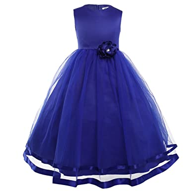 Clothing Square girls dress Flower Girl Dresses Holy Communion DressTulle Vestidos Pageant Dresses for Little Girls