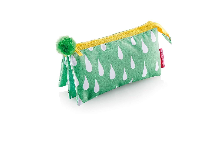 アガサルイスデラプラダMiquelriusアガサルイスデラプラダDrops Children's Backpack、22 cm、0.4リットル、グリーン   B07MQFPFNY