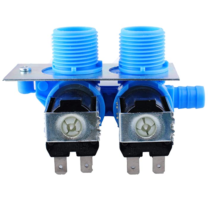 Wadoy 205613 285805 Washer Water Inlet Valve for Maytag Whirlpool Washing Machine PS1583805 AP4023852