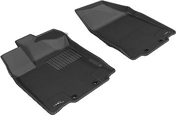3D MAXpider Custom Fit Complete Floor Mat Set for Select Infiniti JX//QX60 Models Kagu Rubber Tan