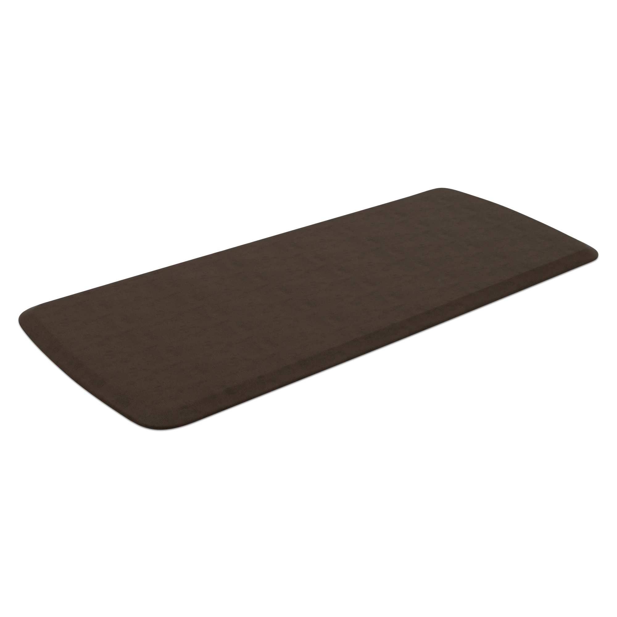 """GelPro Elite Premier Anti-Fatigue Kitchen Comfort Floor Mat, 20x48"""", Vintage Leather Rustic Brown Stain Resistant Surface with Therapeutic Gel and Energy-return Foam for Health and Wellness by GelPro (Image #2)"""