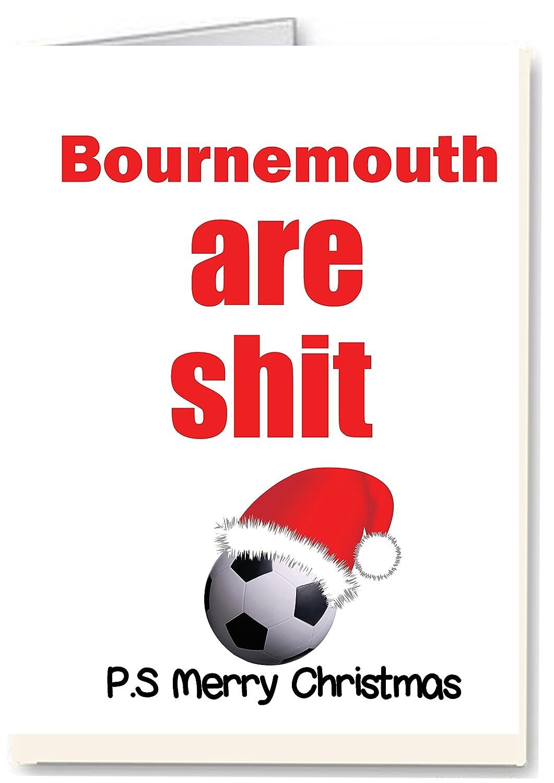 Amazon.de: Bournemouth, die Scheiße Fußball - Rude/Funny Premium ...