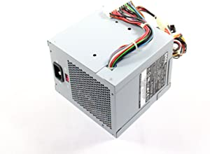 Genuine Dell UH870 305w Power Supply PSU For Dimension 3100, E310, 5000, 5100, E510, 5150, E520, E521, and OptiPlex GX320, GX520, GX620 Small Mini-Tower (SMT) Sytems, Compatible Part Numbers: C9962, CC947, M8802, M8805, M8806, MC164, W4828, W8185, X8129, YH542, U6794, NC905, C5201, D5032, Compatible Model Numbers: CX305N-00, CX305P-00, L305N-00