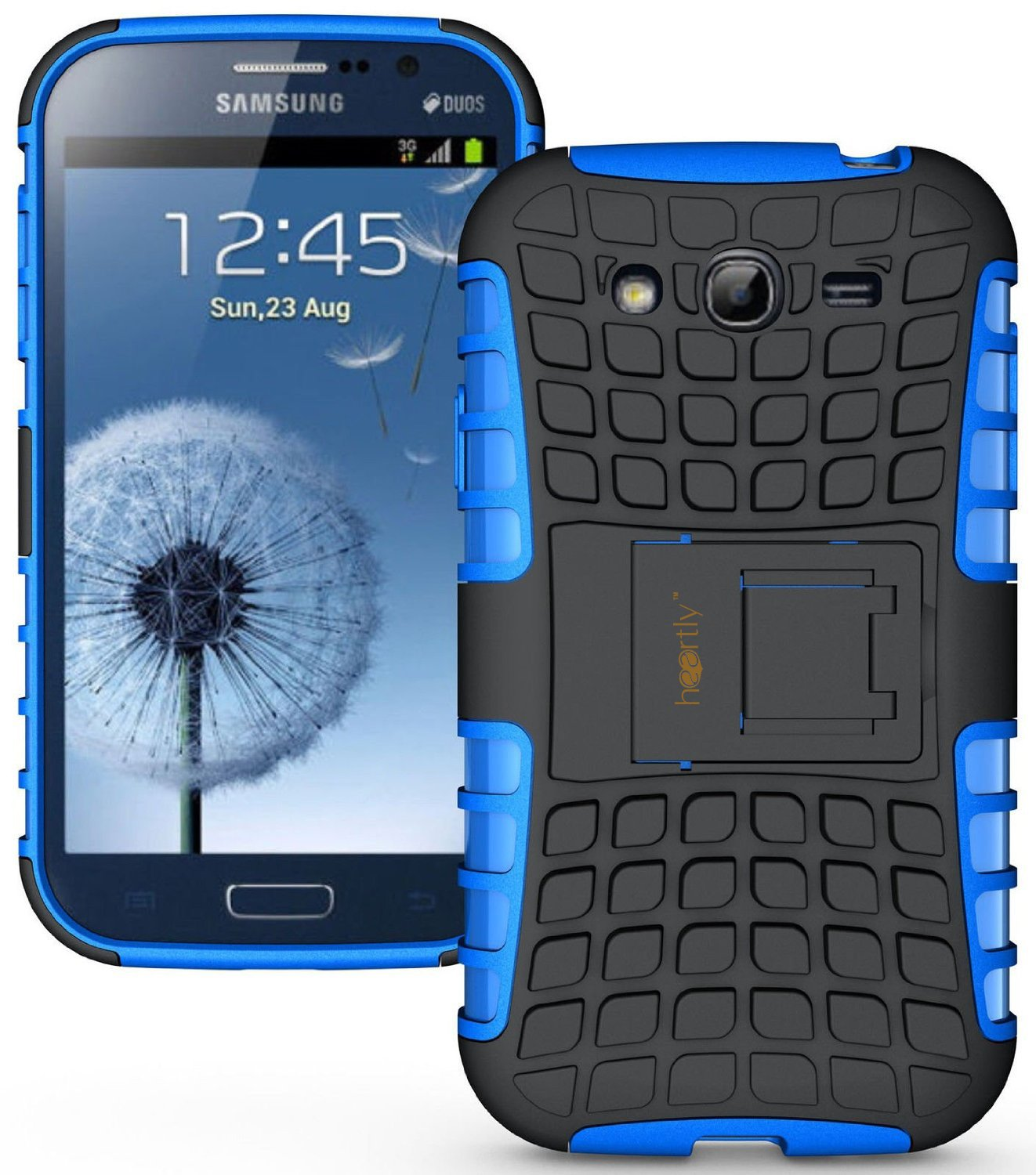 Tpu samsung galaxy s3 s3 neo - Heartly Flip Kick Stand Hard Dual Armor Hybrid Rugged Bumper Back Case Cover For Samsung Galaxy S3 S 3 I9300 Blue Amazon In Electronics