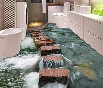 Yosot Benutzerdefinierte Foto Floor 3d Tapete Moderne Kunst Fluss