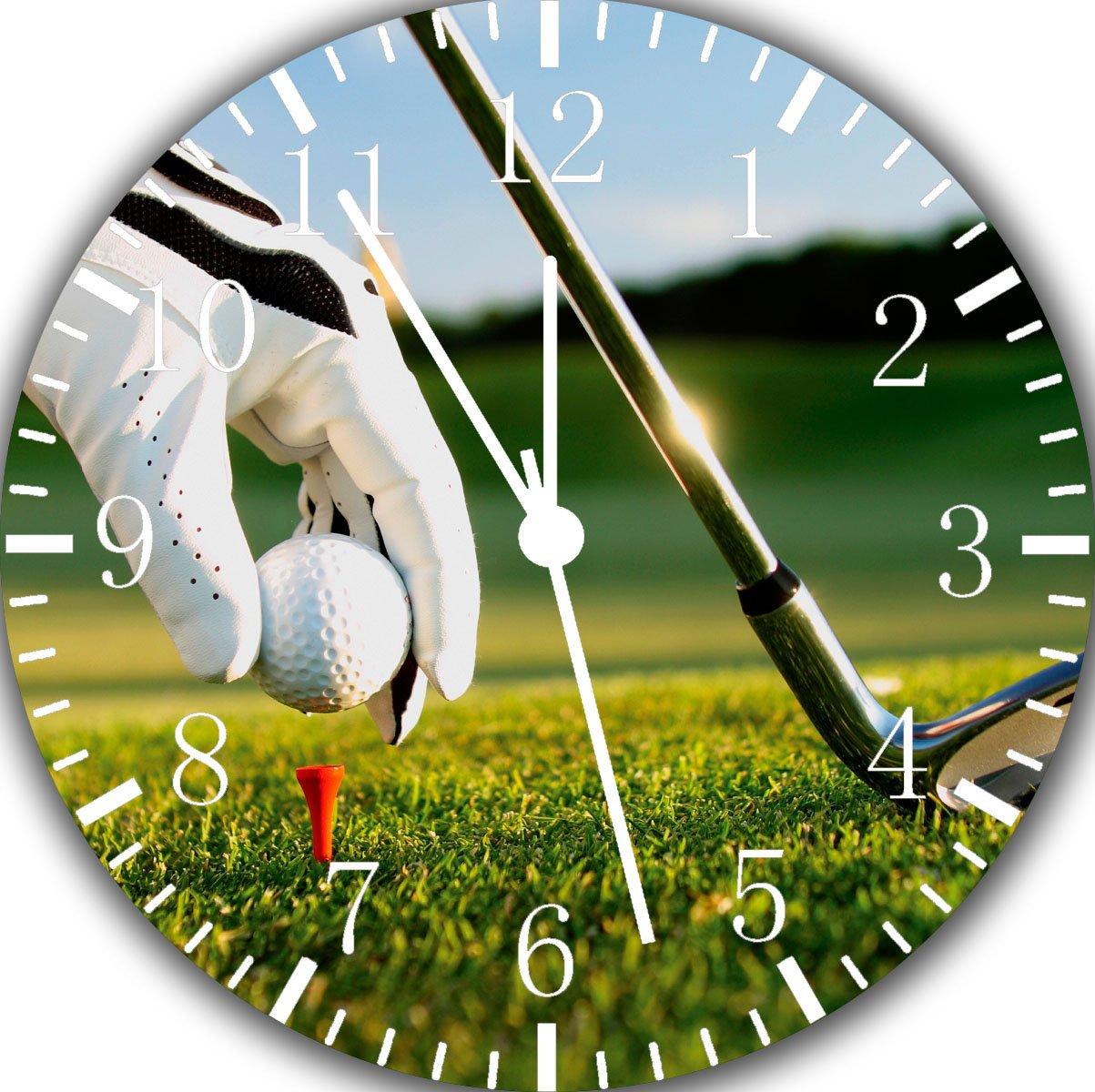 Golf Frameless Borderless Wall Clock Z154 Nice For Gift or Room Wall Decor