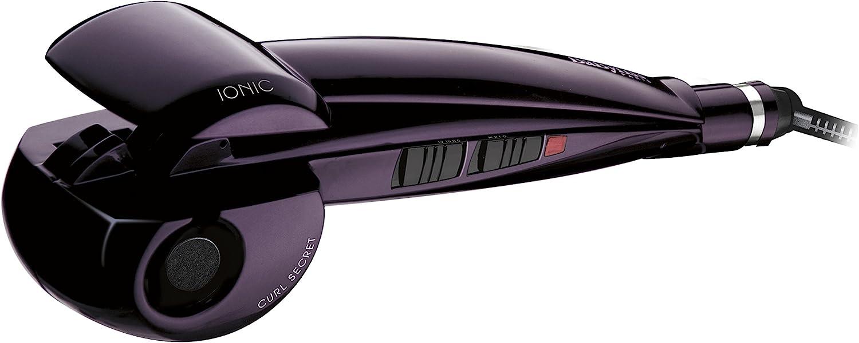 BaByliss Curl Secret Ionic C1050E - Rizador de pelo automático, iónico, recubrimiento cerámico, color morado