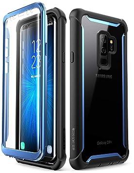 i-Blason - Funda Samsung Galaxy S9 + Plus, [Ares]Carcasa Protectora Resistente de Cuerpo Completo con Protector de Pantalla Incorporada Para Samsung ...