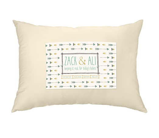 Zack and Ali Toddler Pillow