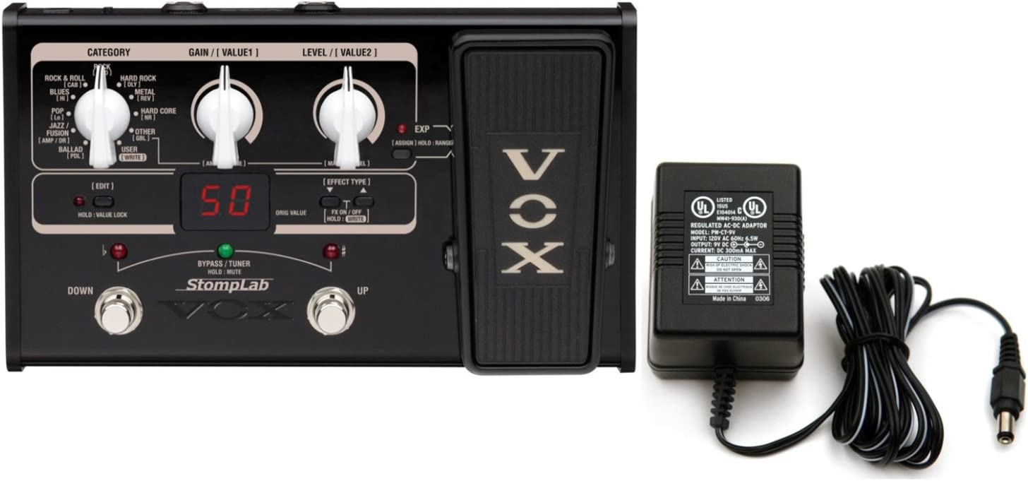Vox Stomplab IIG 2G Pedal de efectos múltiples para guitarra con ...