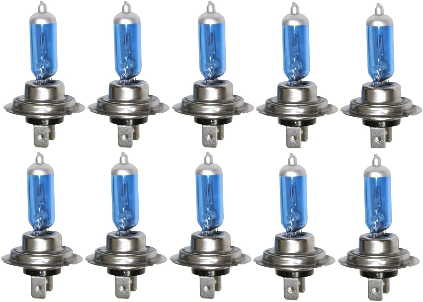 AERZETIX: Bombillas H7 24V 70W con efecto Xenón para camión semirremolque (10 piezas)