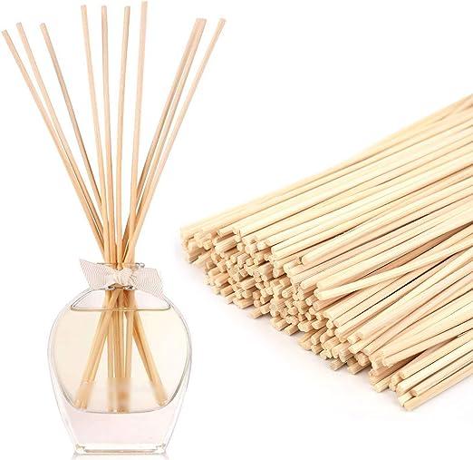 "Details about  /30//100pcs Rattan Reeds Home Fragrance Diffuser Oil Refill Sticks 7/"" x 3mm DIY"