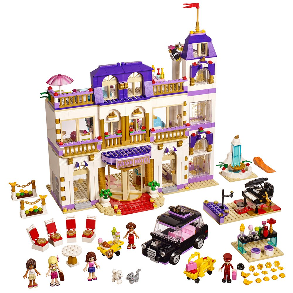 LEGO Friends 41101 Heartlake Grand Hotel Building Kit by LEGO 6099668