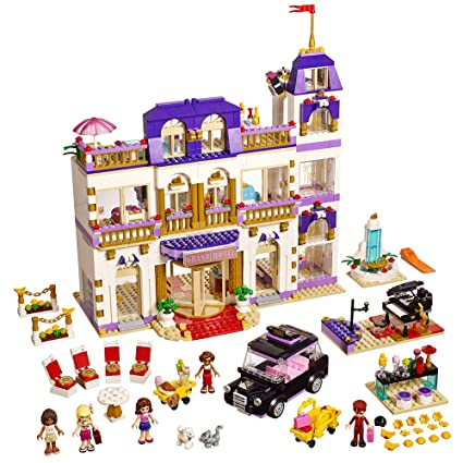 Amazoncom Lego Friends Heartlake Grand Hotel 41101 Toys Games