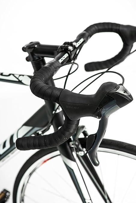 CLOOT - Bicicletas de Carretera - Ciclismo Ruta - Speed Race WH Shimano Claris Grupo Completo de 24 velocidades, Aluminio Triple Butted, Frenos Claris, ...