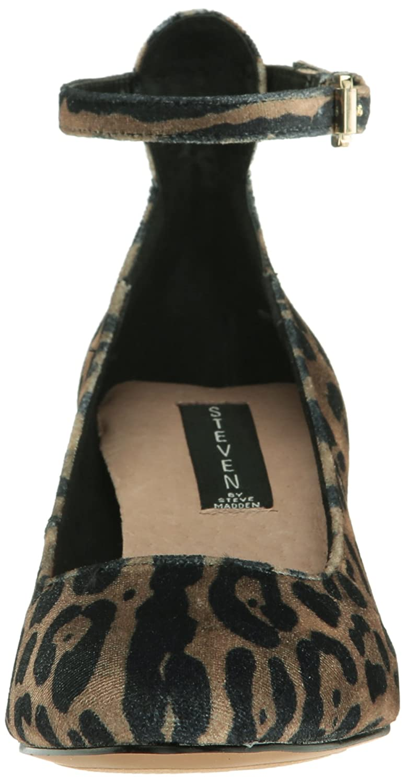 STEVEN by Steve Madden Women's Vassie Dress Pump B01NCBAICC 8 M US|Leopard
