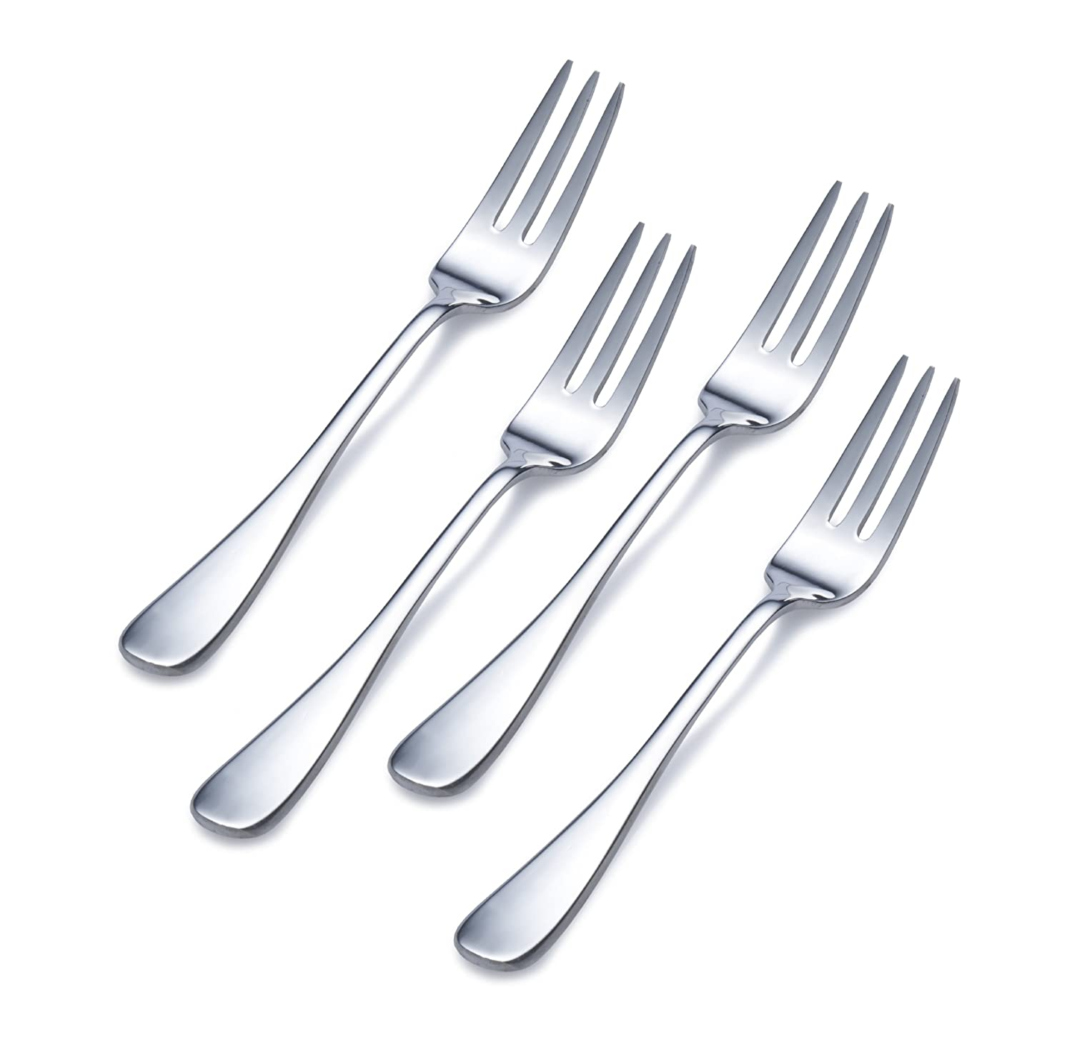 Towle Living 5139861 Basic Stainless Steel Cocktail Fork, Set of 4
