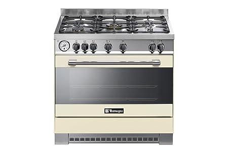 Cocina Pro 90 Horno Gas 5 fuegos: Amazon.es: Hogar