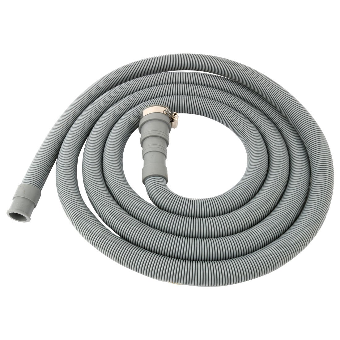 uxcell PVC Washing Machine Drain Hose Extension Kit, Universal Fit All Drain Hose 9.8 Ft