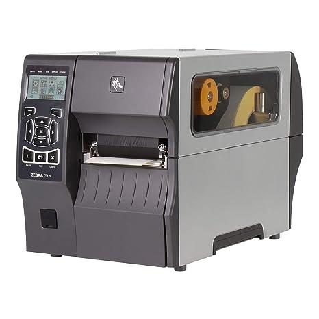 Zebra ZT410 - Impresora de Etiquetas (Transferencia térmica ...
