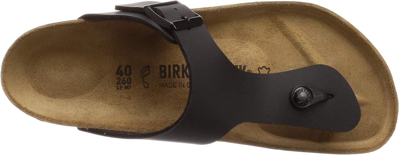 Birkenstock Ramses, Sandales Bout Ouvert Homme Noir