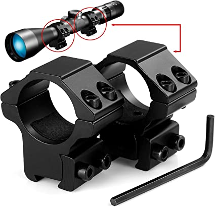 Lirisy 1 Scope Mount Low Profile Scope Rings For 11mm Dovetail Rails 2 Pieces Gun Scope Mounts Amazon Canada