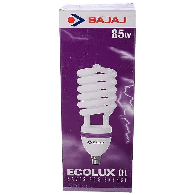 Bajaj Spiral Plastic CFL, 85W, White