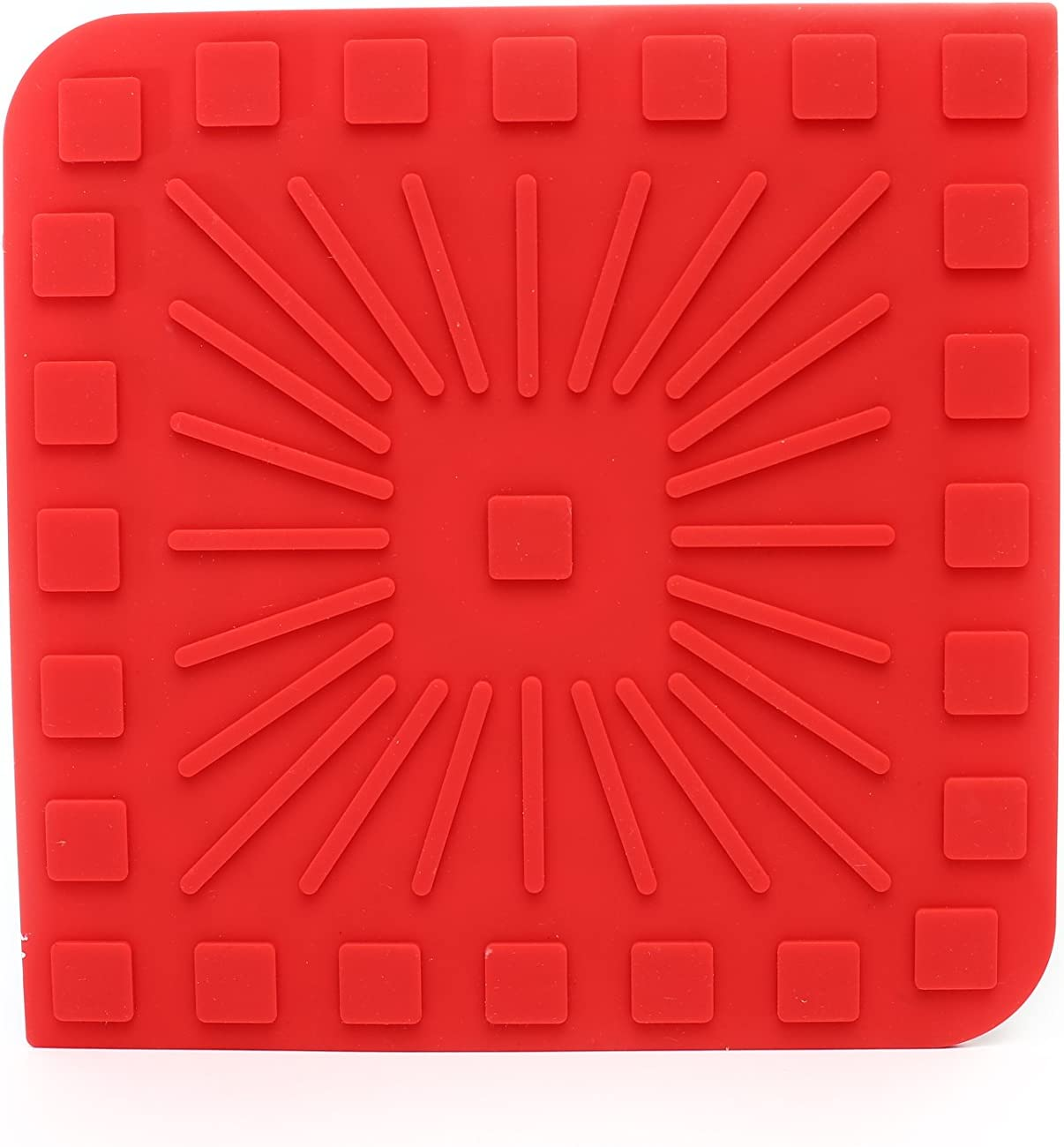 Coaster or Utensil Rest Modgy Silicone Trivet Artist Series-Klimt-The Kiss Easy to Clean Use it as a Hot Pad Heat Releasing Grooved Bottom Durable Non-Slip Heat Resistant