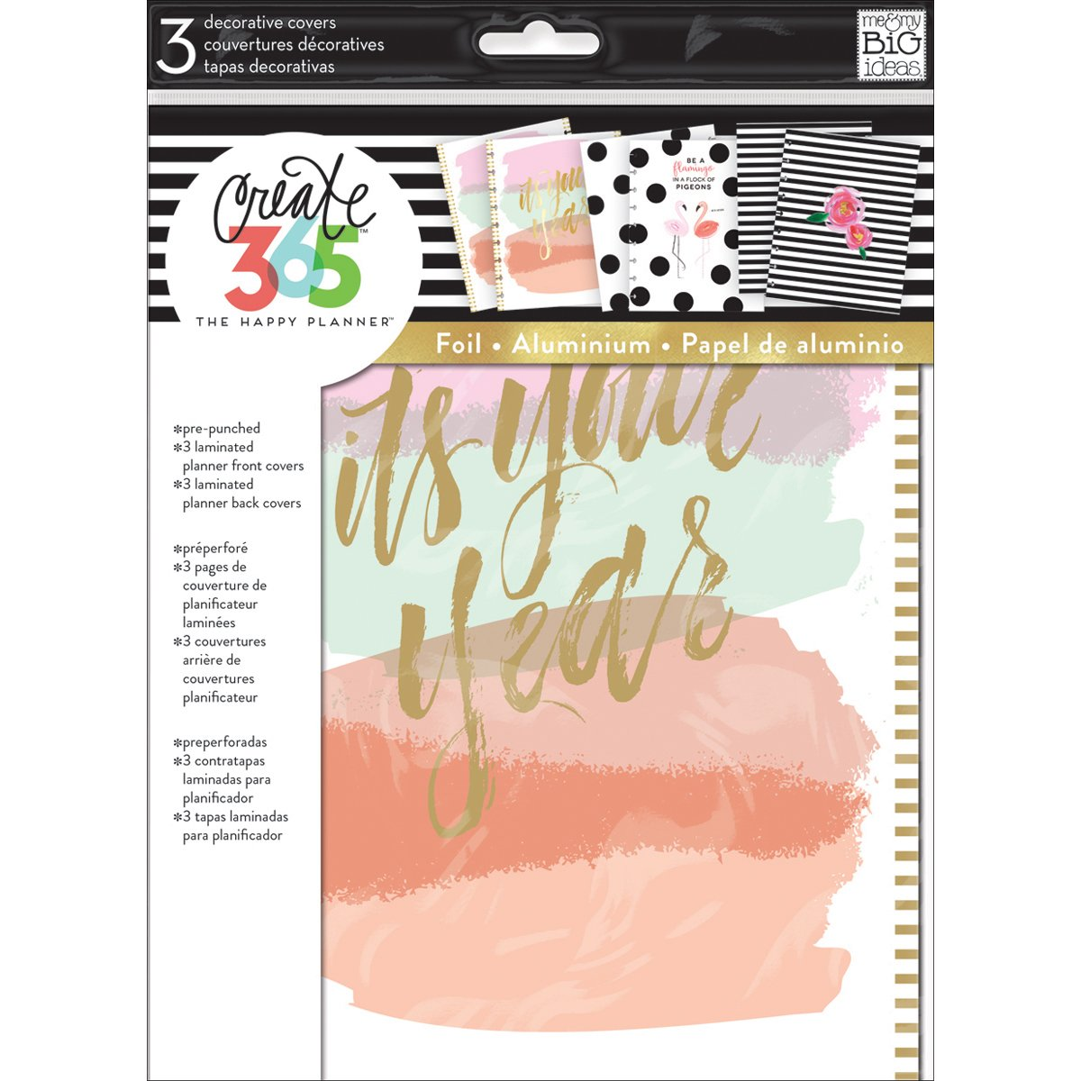 ME & MY BIG IDEAS Covx-02 Create 365 Planner Covers-It's Your Year