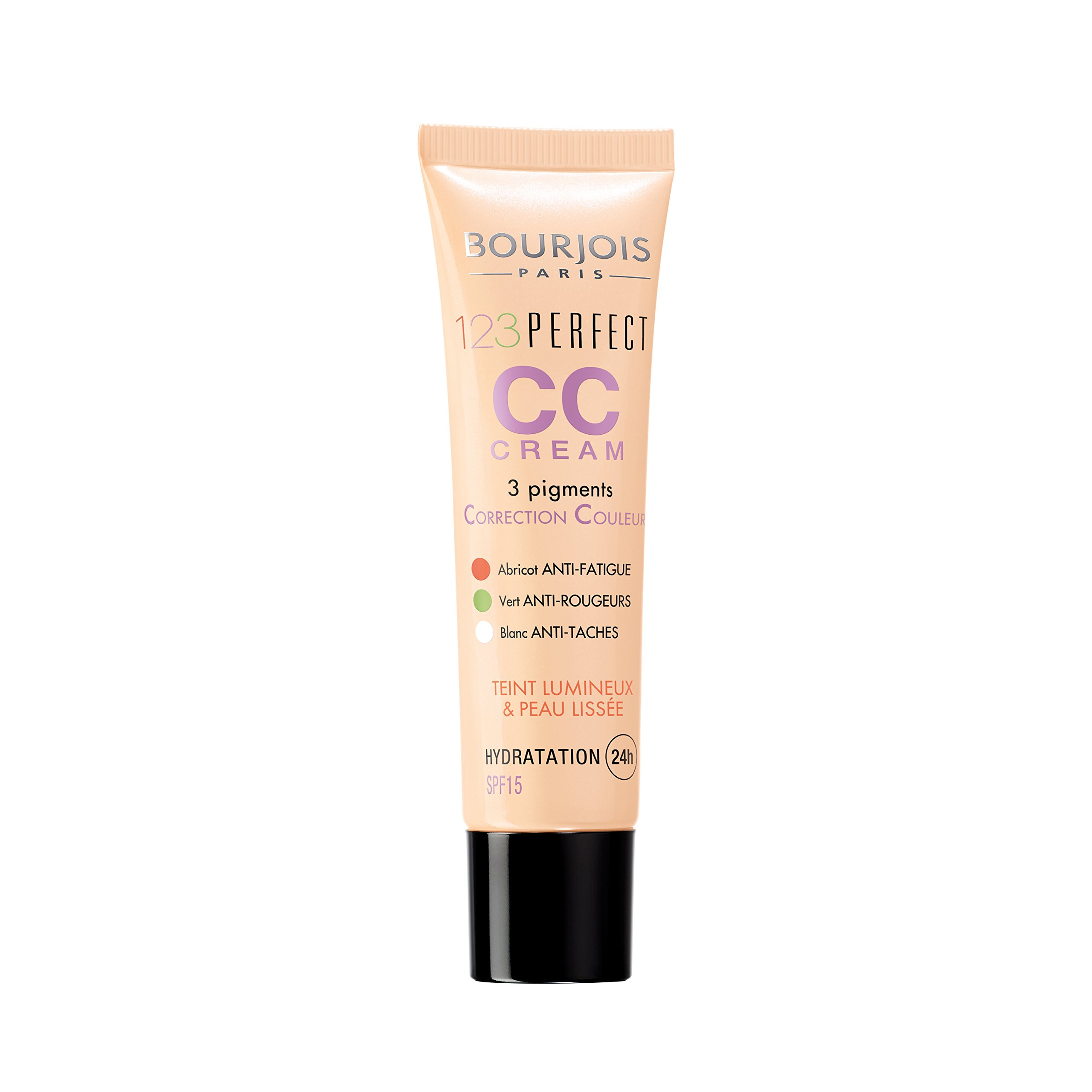 Bourjois - 123 Perfect CC Cream, crema correctora con color, tono light beige product